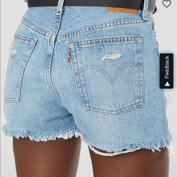 303 Vintage Levi Denim Shorts!